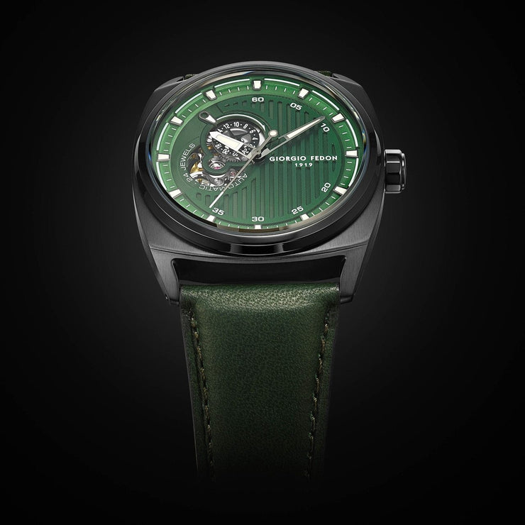 Giorgio Fedon 1919 Legend Automatic Green Black