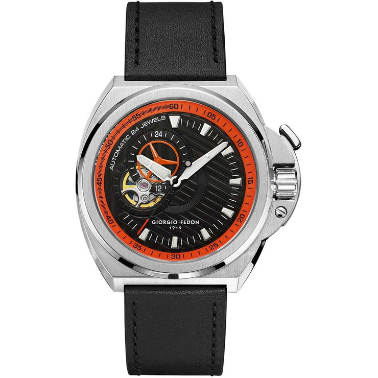 Giorgio Fedon 1919 Sky Walker Automatic Orange Black