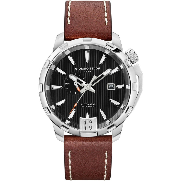 Giorgio Fedon 1919 Timeless VIII Automatic Black Brown