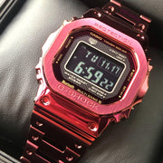 G-Shock GMWB5000 Full Metal Connected Solar Red IP Limited Edition