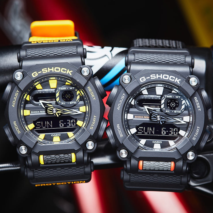 G-Shock GA900 Black Yellow