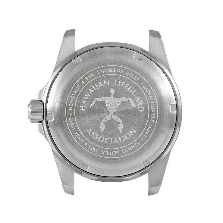 Hawaiian Lifeguard Association Silver Black