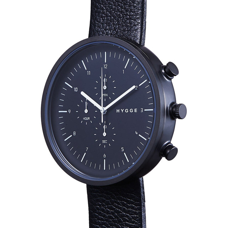 Hygge Horizon Chrono All Black