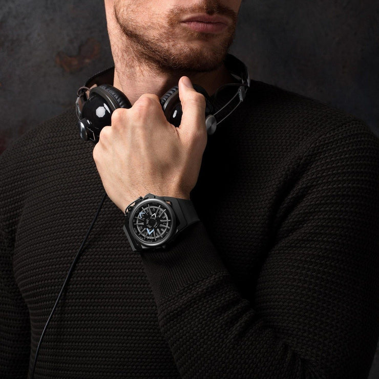 Mazzucato RIM Reversible Automatic All Black