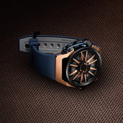 Mazzucato RIM Reversible Automatic Rose Gold Blue