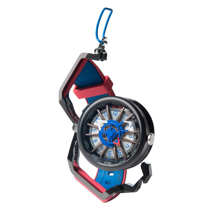 Mazzucato RIM Reversible Automatic Red Blue angled shot picture