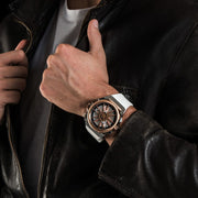 Mazzucato RIM Reversible Automatic White Gold