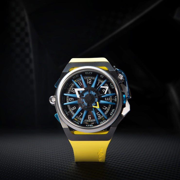 Mazzucato RIM Reversible Automatic Yellow Blue