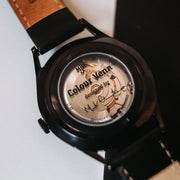 Mr. Jones Colour Venn Black 40mm Automatic