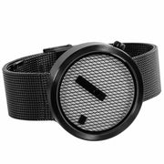 Nava Jacquard Black Mesh 39mm
