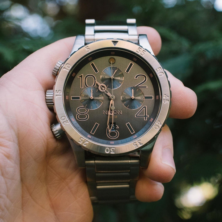 Nixon 48-20 Chrono Gray/Steel