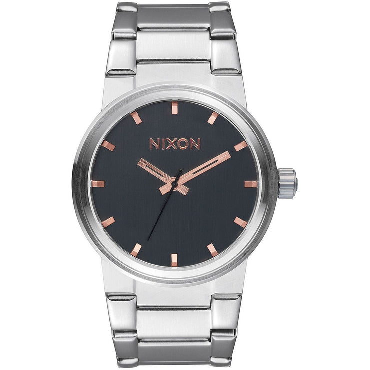 Nixon Cannon Gray Rose Gold