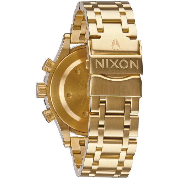 Nixon 38-20 Chrono Gold angled shot picture