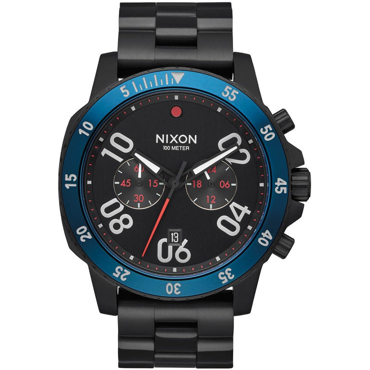 Nixon Ranger Chrono All Black Blue