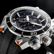 Nubeo Deimos Viking Chronograph Black Orange
