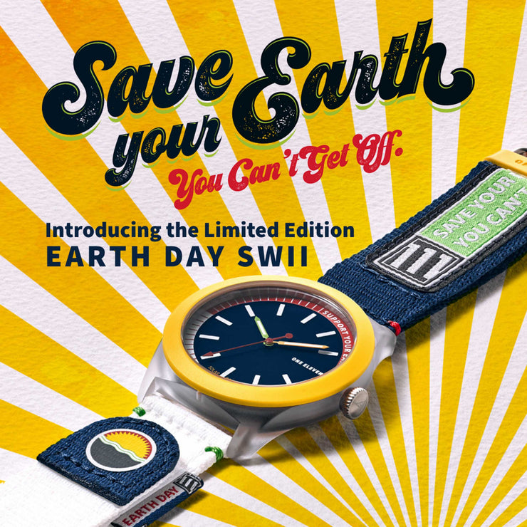 One Eleven CBOE2040 SWII Earth Day Limited Edition