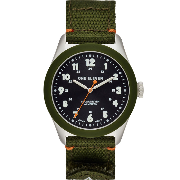 One Eleven CBOE2030 Solar Field Watch Olive