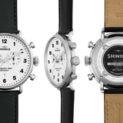 Shinola Canfield 43mm Chronograph White