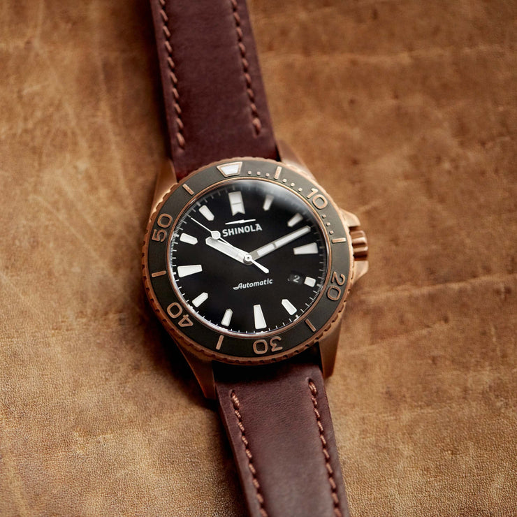 Shinola The Bronze Monster 43mm Automatic