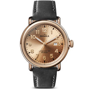 Shinola The Runwell 41mm Gold Black