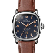 Shinola Guardian 41mm Midnight Blue Brown