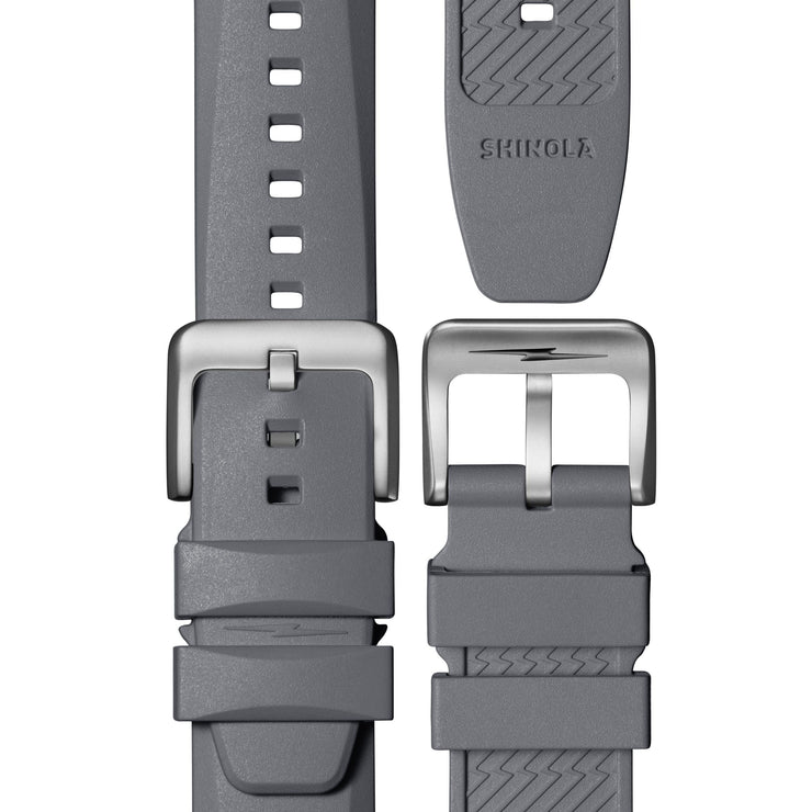 Shinola The Duck 42mm Gray Orange