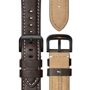 Shinola Runwell 45mm Automatic Dark Brown Black