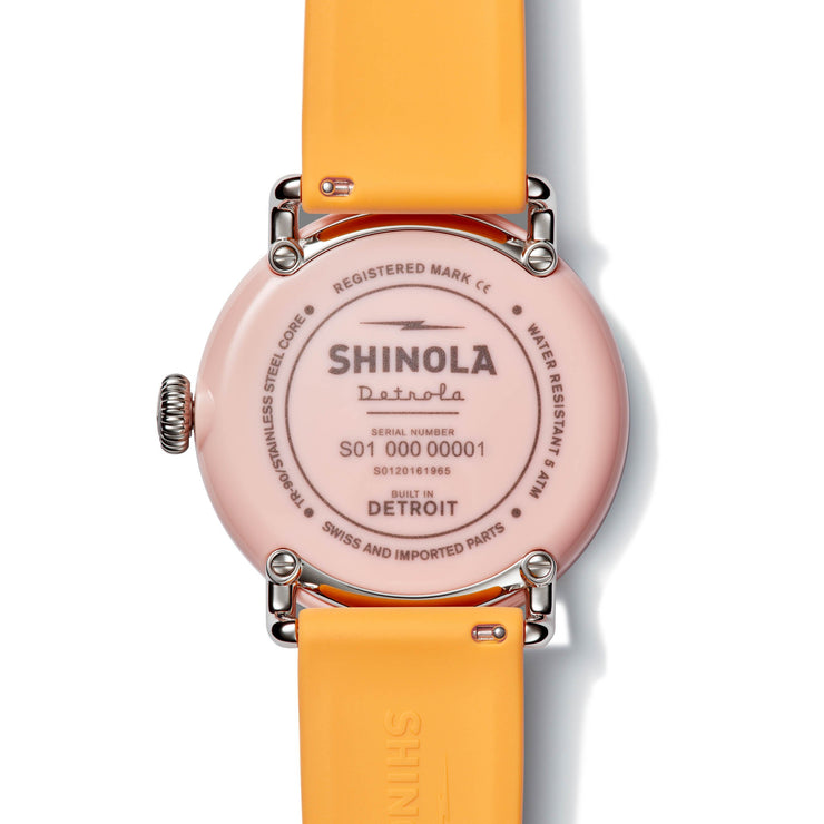 Shinola Detrola 43mm The Islander Pink Green