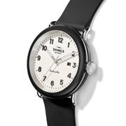 Shinola Detrola 43mm The Penguin Black White
