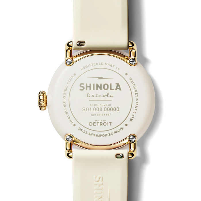 Shinola Detrola 43mm The Au Yeah angled shot picture