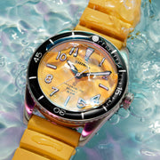 Shinola The Duck 42mm Yellow
