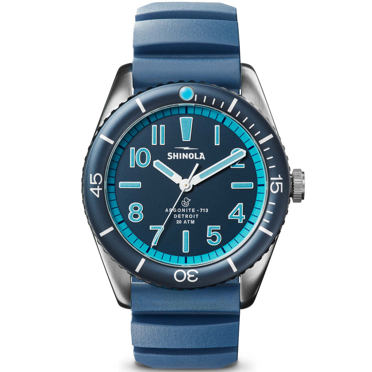 Shinola The Duck 42mm Blue