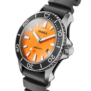 Shinola The Lake Huron Monster 43mm Automatic Orange Black