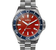 Shinola The Harbor Monster 43mm Automatic Red Blue