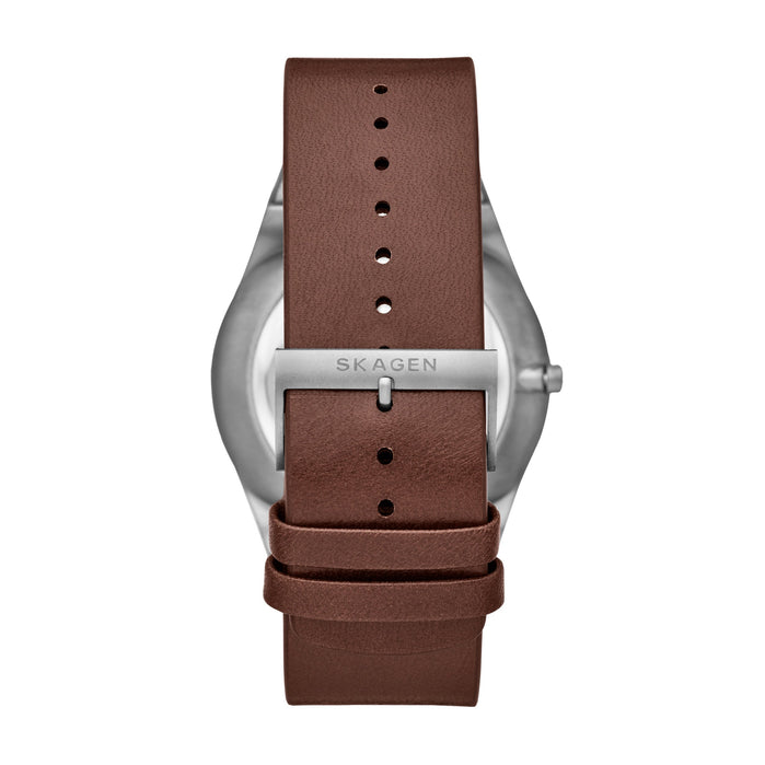 Skagen SKW6574 Melbye Brown Blue angled shot picture