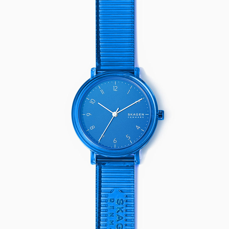 Skagen SKW2855 Aaren 36mm Transparent Blue