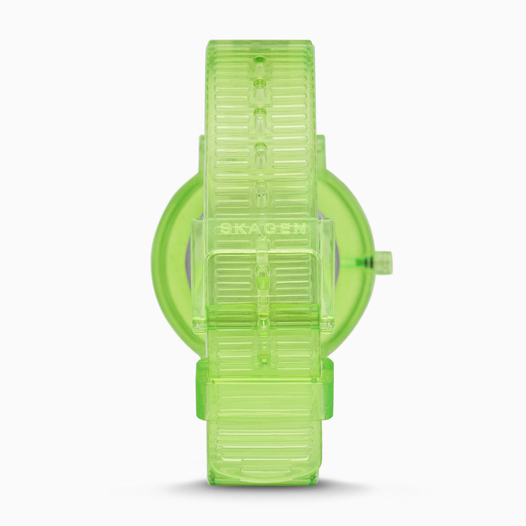Skagen SKW2857 Aaren 36mm Transparent Green