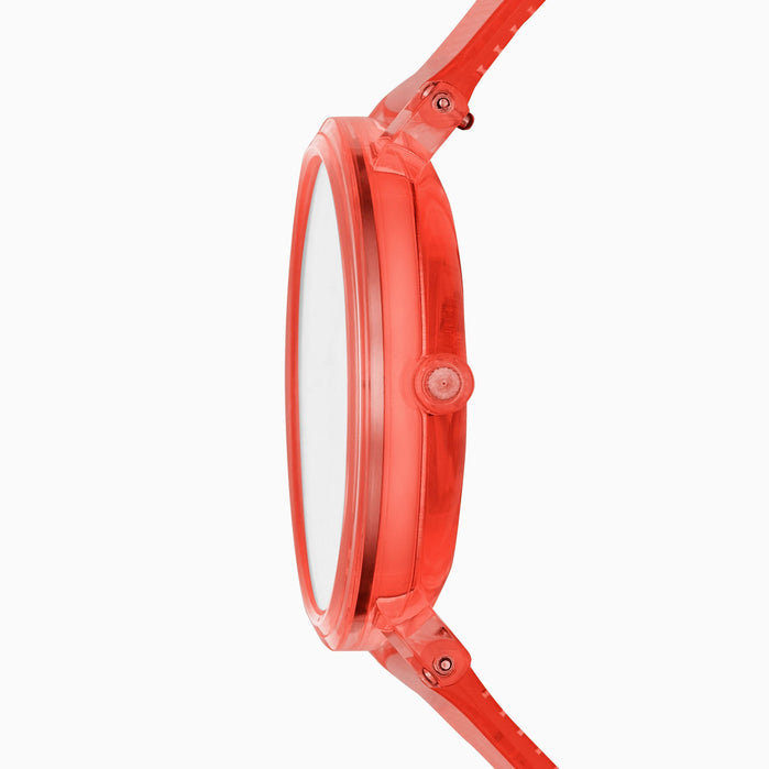 Skagen SKW6603 Aaren 41mm Transparent Coral angled shot picture
