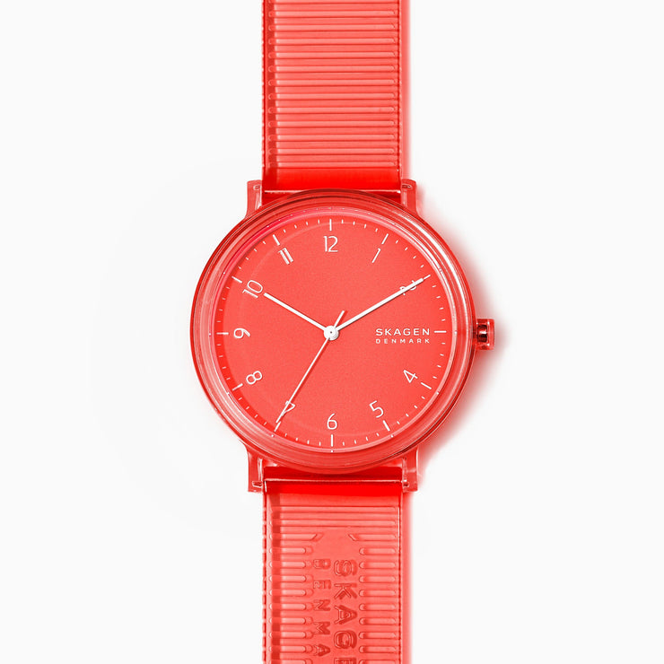 Skagen SKW6603 Aaren 41mm Transparent Coral