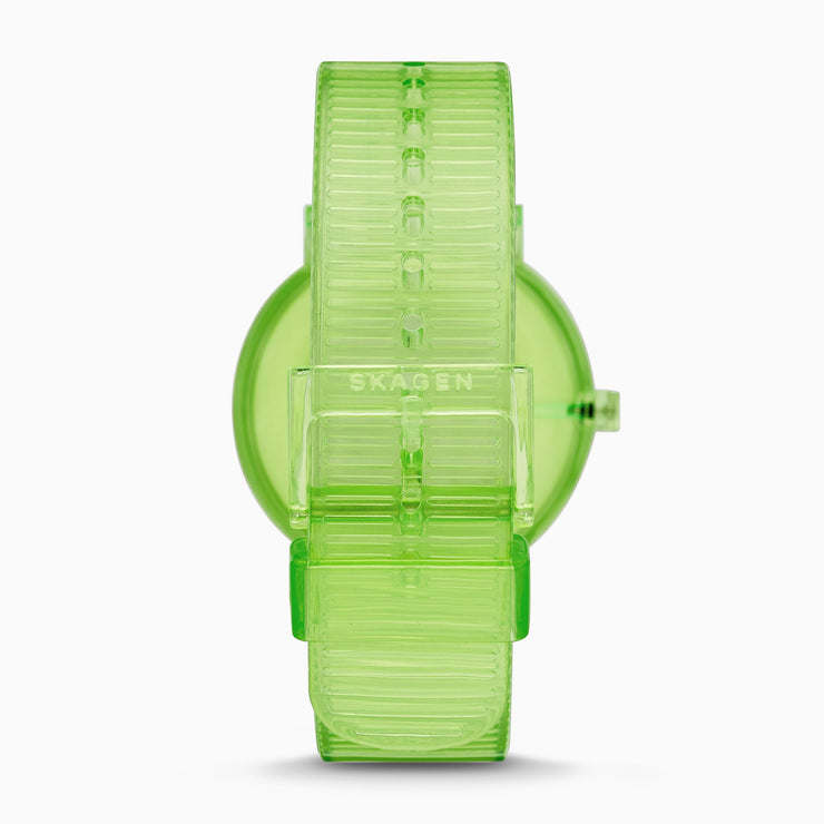 Skagen SKW6604 Aaren 41mm Transparent Green
