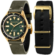 Spinnaker Cahill Automatic Gold Green