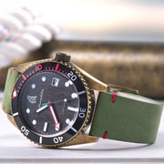 Spinnaker Wreck Automatic Green Bronze