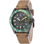Spinnaker Wreck Automatic Brown Green