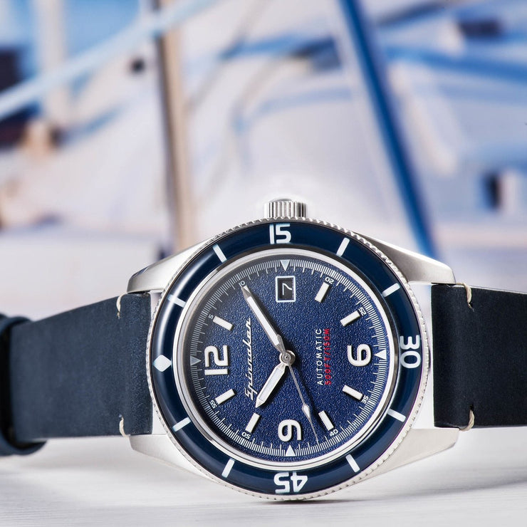 Spinnaker FLEUSS Automatic Navy Silver