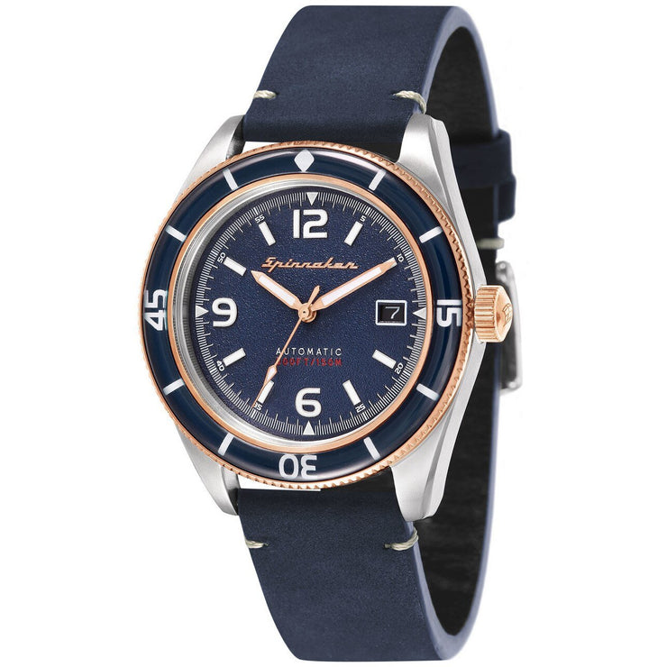 Spinnaker FLEUSS Automatic Navy Rose Gold
