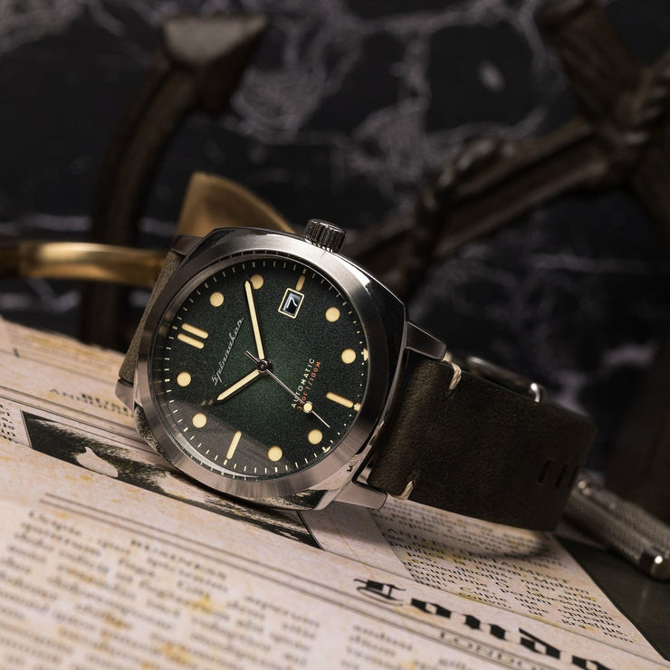Spinnaker Hull Automatic Olive