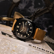 Spinnaker Hull Automatic Tan Black
