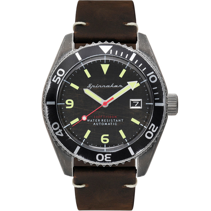 Spinnaker Wreck Automatic Black Brown