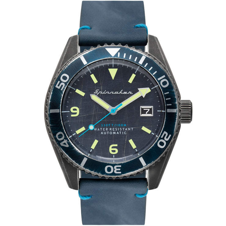 Spinnaker Wreck Automatic Gunmetal Blue