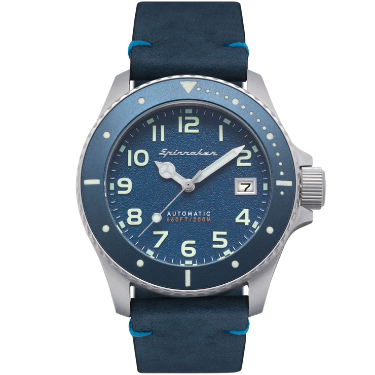 Spinnaker Spence Automatic Silver Blue